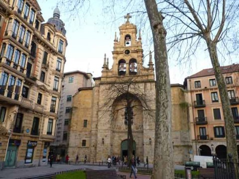 guia bilbao 9 SAN VICENTE2 480x359 Iglesia de San Vicente Mártir