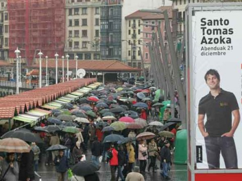 guia bilbao 10 santotomas01 480x359 Saint Thomas' day (December 21st)